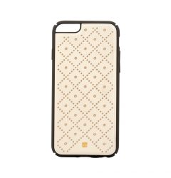 Carcasa iPhone 6/6S Just Must Carve VI Beige (protectie margine 360�)