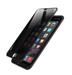 Folie iPhone 7 Plus Devia Frame Sticla Temperata Privacy Black