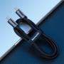 Cablu Type-C la Type-C Baseus Cafule Series Gen1 Gray & Black