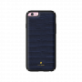 Carcasa iPhone 6/6S Just Must Croco Navy (protectie margine 360�)
