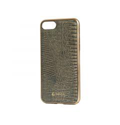 Carcasa iPhone 7 Occa Lizard Gray (piele naturala, protectie margine 360)