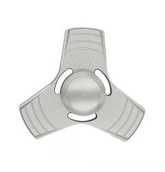 Spinner Fidget Lemontti Aluminiu Argintiu