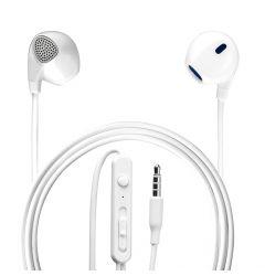 Casti Stereo 3.5 mm 4smarts Melody White (jack 3.5mm, cablu 1.2m)