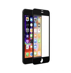Folie iPhone 8 Plus / 7 Plus Devia Sticla Van Full Black (0.26mm, 9H, folie spate inclusa)