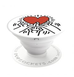 Suport Popsockets Stand Adeziv Family by Keith Haring