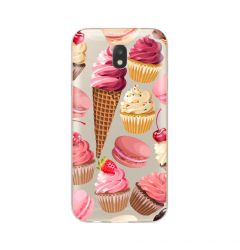 Husa Samsung Galaxy J5 (2017) Lemontti Silicon Art Cookies