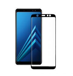 Folie Samsung Galaxy A6 (2018) Eiger Sticla 3D Edge to Edge Clear Black