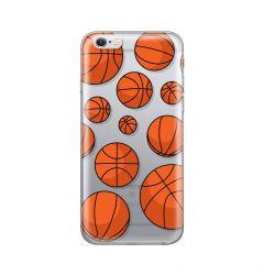 Husa iPhone 6/6S Lemontti Silicon Art Basketball
