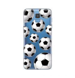 Husa Samsung Galaxy J6 (2018) Lemontti Silicon Art Football