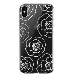 Carcasa iPhone XS Max Devia Camellia Silver