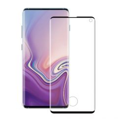 Folie Samsung Galaxy S10 G973 Eiger Sticla 3D Case Friendly Clear Black