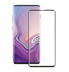 Folie Samsung Galaxy S10 G973 Eiger Sticla 3D Edge to Edge Clear Black