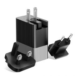 Incarcator Retea 3.4A Mcdodo 3 Ports USB Travel Black