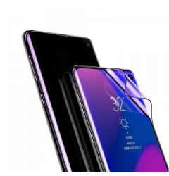 Folie Samsung Galaxy S10 Plus G975 Baseus Curbata Full Screen Anti-explosion Black (flexibila, 2 buc