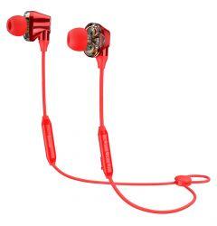 Casti Bluetooth Baseus Encok S10 Dual Dynamic Red