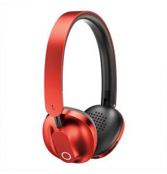 Casti True Wireless (Bluetooth) Baseus Encok D01 Red