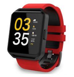Maxcom Smartwatch FitGo FW15 Square Rosu (Bluetooth 4.0)