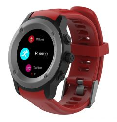 Maxcom Smartwatch FitGo FW17 Power, GPS Rosu(Bluetooth 4.0)