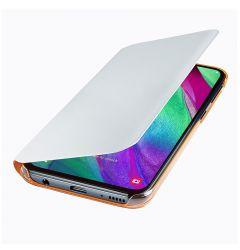 Husa Samsung Galaxy A40 Samsung Book Wallet Cover White