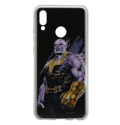 Husa Huawei P Smart (2019) / Honor 10 Lite Marvel Silicon Thanos 003 Black