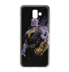 Husa Samsung Galaxy J6 Plus Marvel Silicon Thanos 003 Black