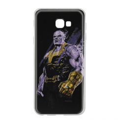 Husa Samsung Galaxy J4 Plus Marvel Silicon Thanos 003 Black