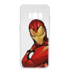 Husa Samsung Galaxy S8 G950 Marvel Silicon Iron Man 005 Clear
