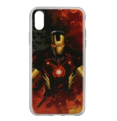 Husa iPhone X Marvel Silicon Iron Man 003