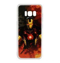 Husa Samsung Galaxy S8 G950 Marvel Silicon Iron Man 003