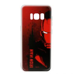 Husa Samsung Galaxy S8 G950 Marvel Silicon Iron Man 004 Red