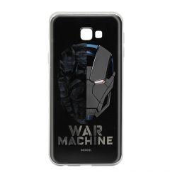 Husa Samsung Galaxy J4 Plus Marvel Silicon War Machine 001 Silver