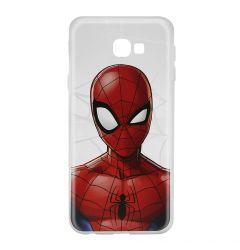 Husa Samsung Galaxy J4 Plus Marvel Silicon Spider-Man 012 Clear