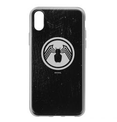 Husa iPhone X Marvel Silicon Venom 001 Black