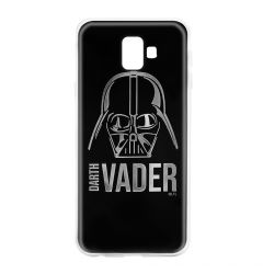 Husa Samsung Galaxy J6 Plus Star Wars Silicon Luxury Darth Vader 010 Silver