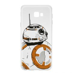 Husa Samsung Galaxy J4 Plus Star Wars Silicon BB-8 009 Clear