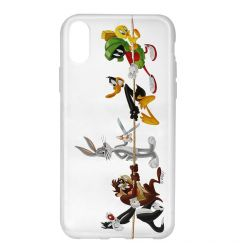 Husa iPhone X Looney Tunes Silicon Looney Tunes 009 Clear