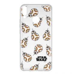 Husa Huawei P Smart (2019) / Honor 10 Lite Star Wars Silicon BB-8 004 Clear