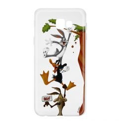 Husa Samsung Galaxy J4 Plus Looney Tunes Silicon Looney Tunes 005 Clear