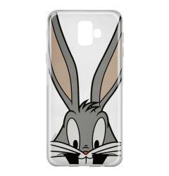 Husa Samsung Galaxy J6 Plus Looney Tunes Silicon Bugs 001 Clear