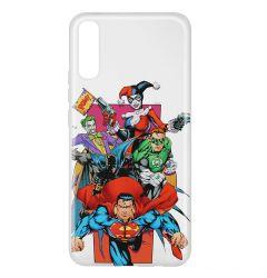 Husa Samsung Galaxy A50 DC Comics Silicon Justice League 004 Clear