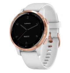 Smartwatch Garmin Vivoactive 4s Rose Gold, Silicone White