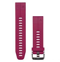 Curea Garmin Smartwatch Garmin QuickFit Silicone Cerise 20mm