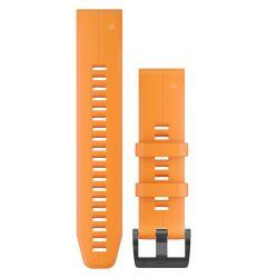 Curea Garmin Smartwatch Garmin QuickFit Silicone Orange 22mm