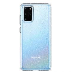 Husa Samsung Galaxy S20 Plus Spigen Liquid Crystal Glitter Crystal Clear