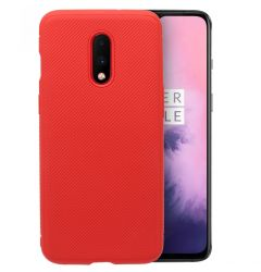 Husa OnePlus 7 Just Must Silicon Metro Red