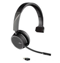 Casca Call Center Bluetooth Wireless Plantronics Voyager 4210 UC USB-A (SoundGuard)