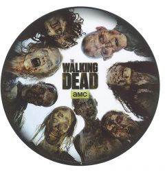 Aby Style Mouse Pad The Walking Dead: Round Of Zombies