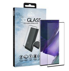 Folie Samsung Galaxy Note 20 Ultra Eiger Sticla 3D Edge to Edge Clear Black