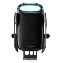 Suport Baseus Auto Milky Way cu Wireless Chaarger Black ( prindere la ventilatie)