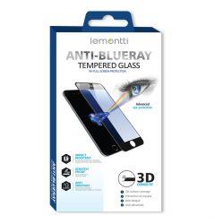 Folie iPhone 12 Pro Max Lemontti Sticla Anti-BlueRay Black